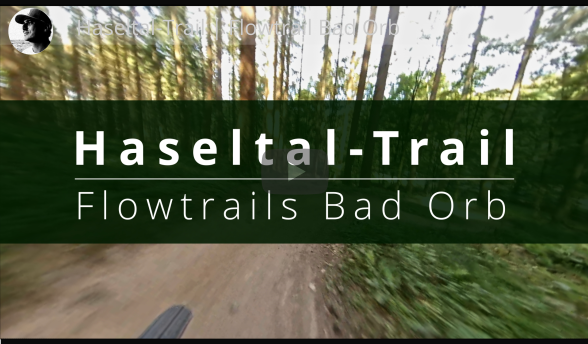 MTB EMTB Bike Flowtrail Bad Orb Haseltal Trail